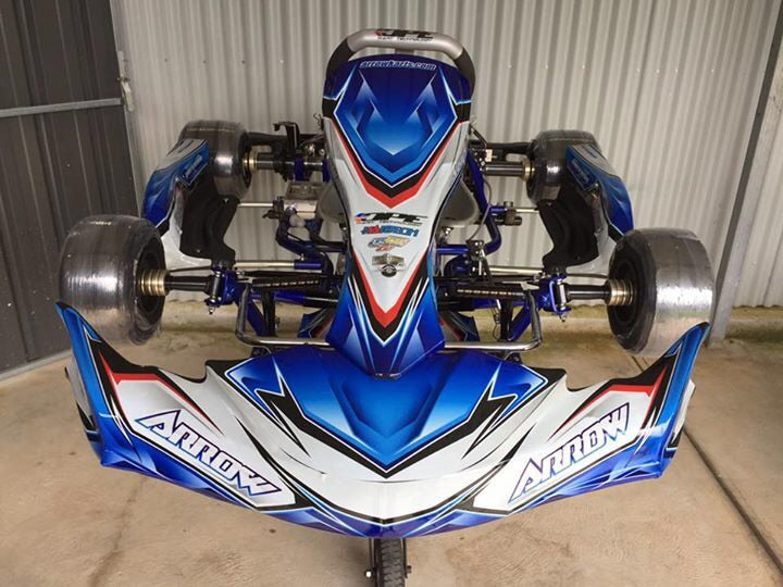 Chassis - Arrow X4 Vegas - TAG/Leopard/Rotax-30/30