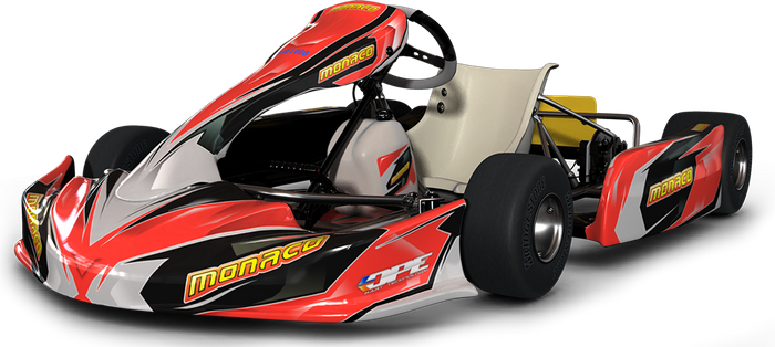 Chassis - Monaco M4 - 28J (Junior)