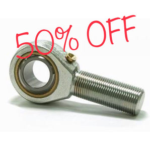 Tie Rod End 8mm Male L/H with jam nut USE CODE 50%OFF at checkout