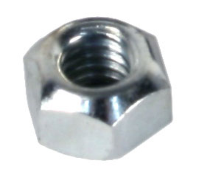 Brake Disc Nut Cone Lock 6mm Zinc Plated - For BRDHB
