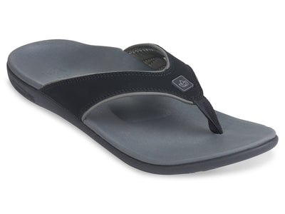 Spenco Men's Yumi Plus Carbon/Pewter