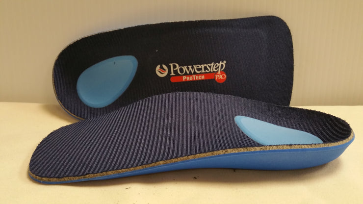 Powerstep Protech - 3/4 Length Orthotic Insole Shoe Inserts