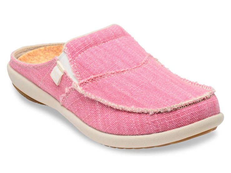 Spenco Women's Canvas Siesta Slide Pink