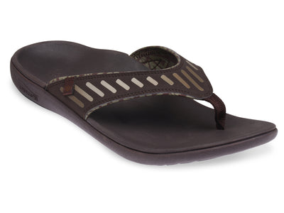 Spenco Men's Tribal Sandal Coffee Bean