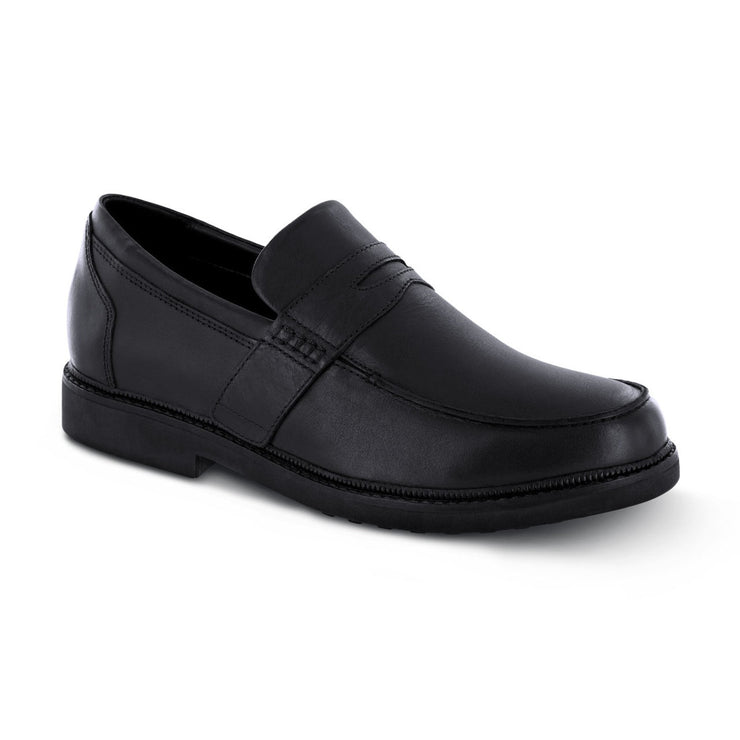 LEXINGTON STRAP LOAFER - BLACK - T200