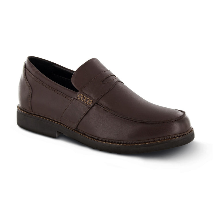 LEXINGTON STRAP LOAFER - BROWN - T210