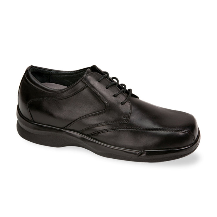 MEN'S BIOMECHANICAL STITCHED OXFORD - BLACK - B2050