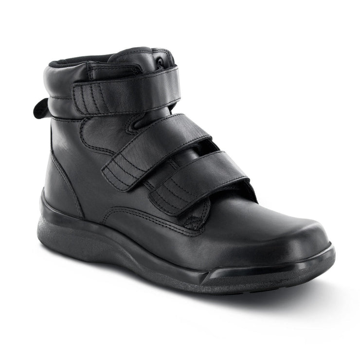 BIOMECHANICAL TRIPLE-STRAP WORK BOOT - BLACK - B4200