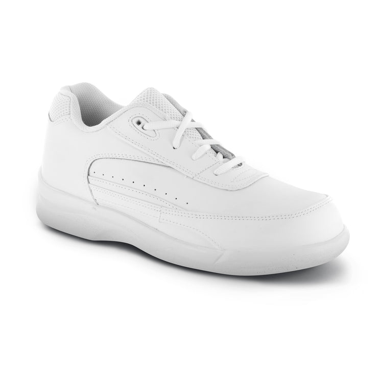 MEN'S ACTIVE WALKER LACE - BIOMECHANICAL - WHITE - G7200
