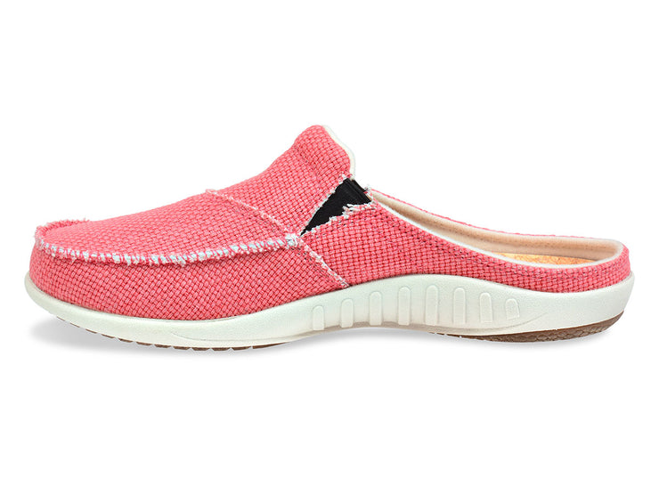 Spenco Women's Canvas Siesta Slide Salmon
