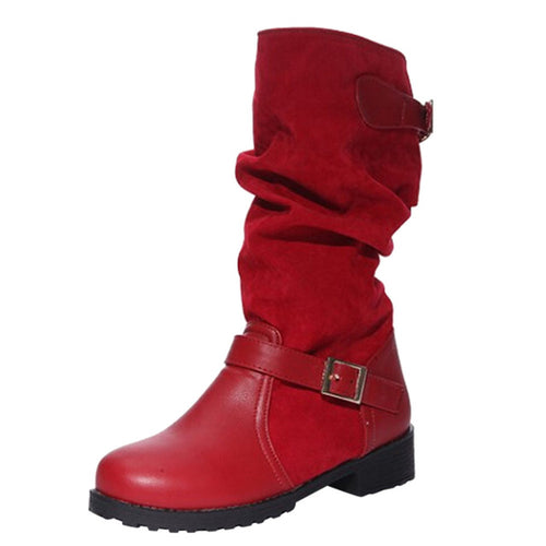 Ladies Women Winter Boots Hot Sale 2018 Extra Wide