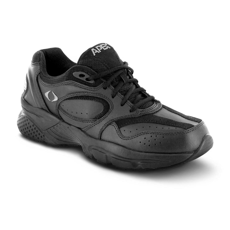 MEN'S LACE WALKERS - X-LAST - BLACK - V801