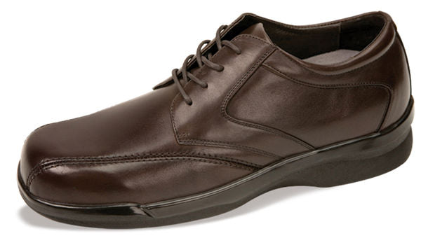 MEN'S BIOMECHANICAL STITCHED OXFORD - BROWN - B2060