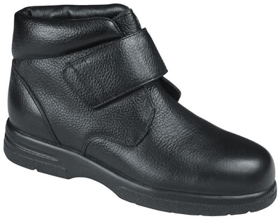 Big Easy Drew Black Men Diabetic Leather Casual Boots