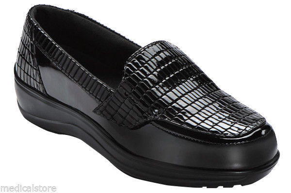 Chelsea - Crocodilia - Orthofeet - Croc - Slip on Loafer - Diabetic Shoes - 819
