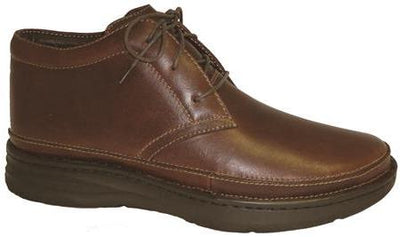 Keith Drew Brandy Men Diabetic Leather Casual Boots