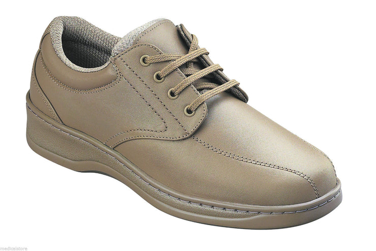 Lake Charles Beige Tan - Orthofeet -  Casual - Walking Diabetic Shoes  - 704
