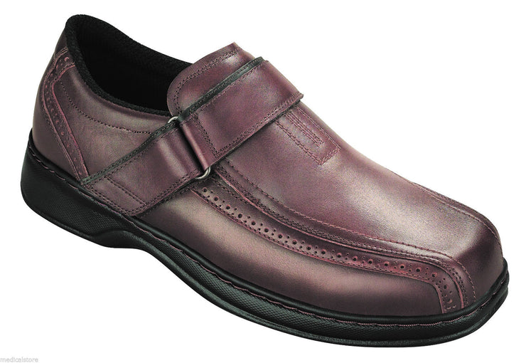 Lincoln Center - Orthofeet -  Dress Shoe - Oxford Buckle - Diabetic Shoe - 587