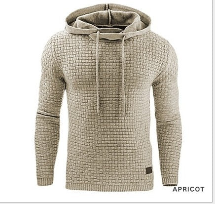 Men's Textured Dress Hoodie