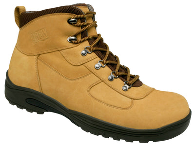 Rockford Drew Wheat Nubuck Men Diabetic Leather Casual Boots