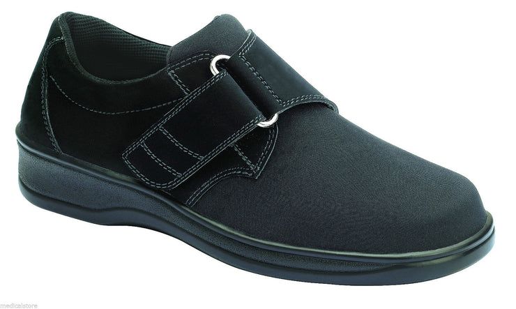 Wichita Black Velcro - Orthofeet -  Casual - Lyrica Diabetic Shoes  - 825