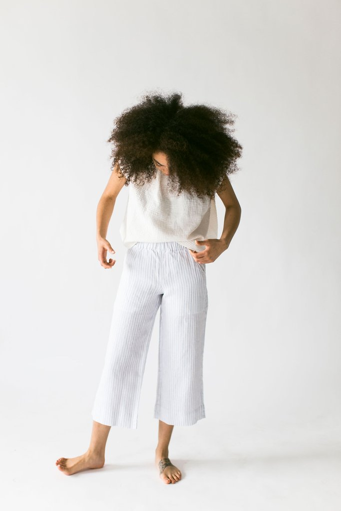Draw String Linen Pants