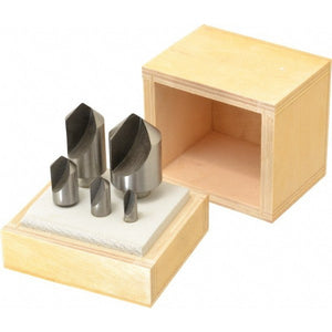 "1/4-1"" 82 Degree HSS Single Flute Countersink 5 Pc. Set"