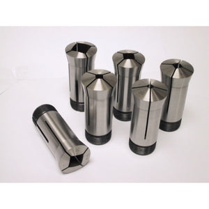 5C Square Collet 6 PC Set 1/4, 5/16, 3/8, 1/2, 5/8, 3/4