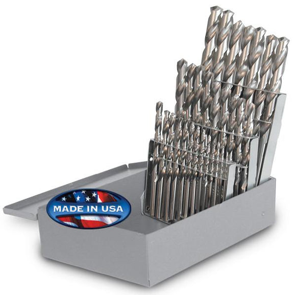 Drill Sets - Jobber - 29 pc. Bright - 118° Point - Fractional Sizes - 95090840