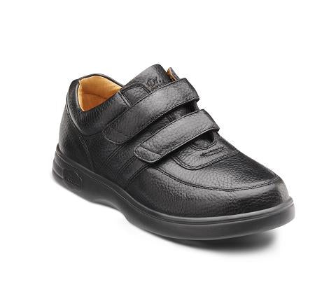DR COMFORT-0010-BLACK-Collette Black Velcro