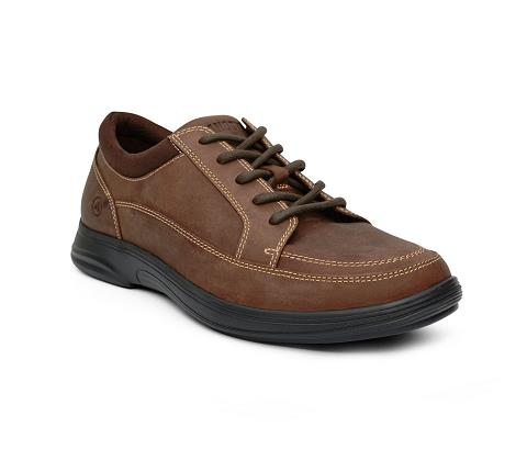 ANODYNE-M072:Brown-BROWN-Casual Sport-Lace