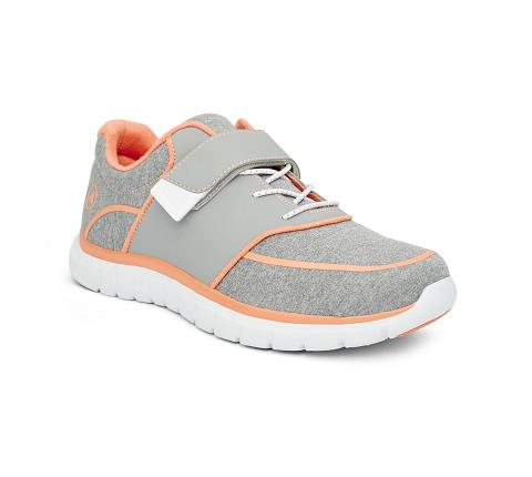 ANODYNE-W045:Grey:Orange-GREY-Sport Jogger-Velcro