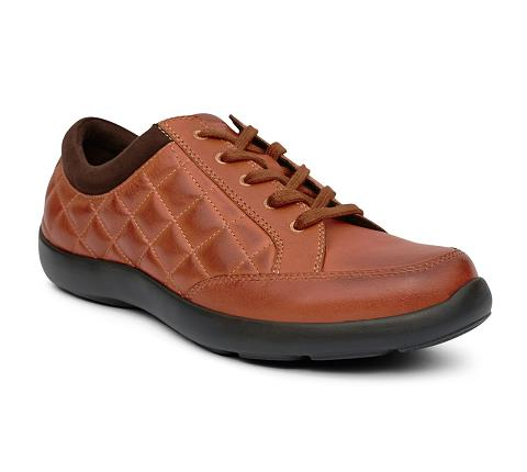 ANODYNE-W075:Saddle-BROWN-Casual Sport-Lace
