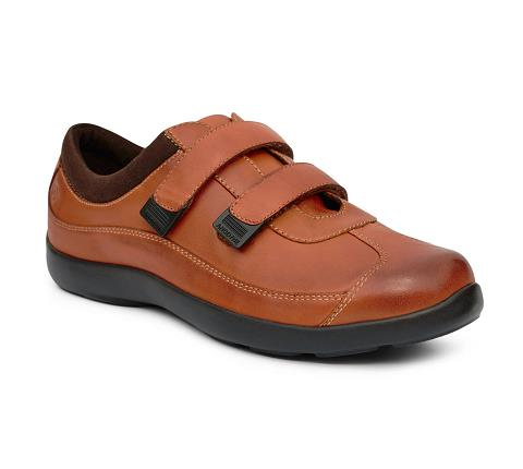 ANODYNE-W097:Saddle-BROWN-Casual Sport-Velcro