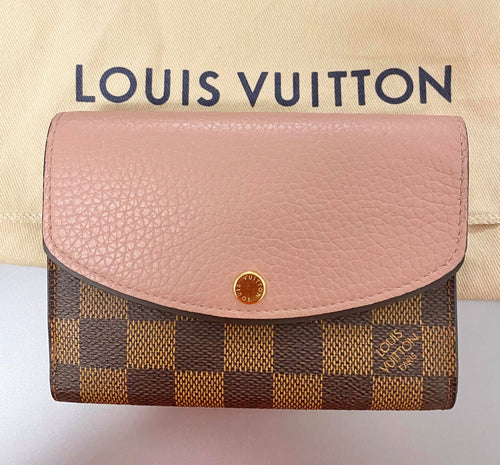 AUTHENTIC Louis Vuitton Normandy Wallet PREOWNED (WBA248)