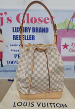 Load image into Gallery viewer, AUTHENTIC Louis Vuitton Noe Damier Azur Preowned (WBA209)