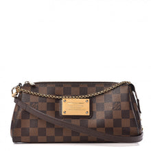 Load image into Gallery viewer, AUTHENTIC Louis Vuitton Eva Clutch Damier Azur PREOWNED (WBA437)