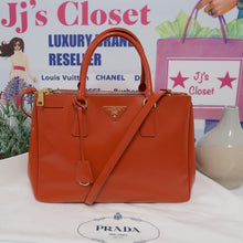 Load image into Gallery viewer, AUTHENTIC Prada Orange Saffiano PREOWNED (WBA117)