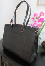 Load image into Gallery viewer, AUTHENTIC Louis Vuitton Madeleine GM Black Epi Preowned