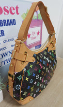 Load image into Gallery viewer, AUTHENTIC Louis Vuitton Greta Black Multicolore PREOWNED (WBA106)