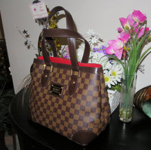 Load image into Gallery viewer, AUTHENTIC Louis Vuitton Hampstead Damier Ebene PM Preowned