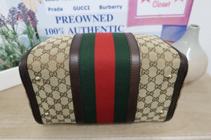 AUTHENTIC Gucci Boston PREOWNED (WBA050)