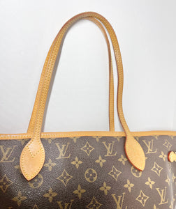AUTHENTIC Louis Vuitton Neverfull Monogram MM PREOWNED (WBA370)