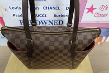 Load image into Gallery viewer, AUTHENTIC Louis Vuitton Totally PM Damier Ebene PREOWNED (WBA058)