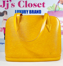 Load image into Gallery viewer, AUTHENTIC Louis Vuitton Lussac Tassil Yellow Epi Preowned (WBA)