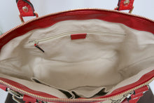 Load image into Gallery viewer, AUTHENTIC Gucci GG Canvas Sukey Top Handle CB PREOWNED (WBA123)