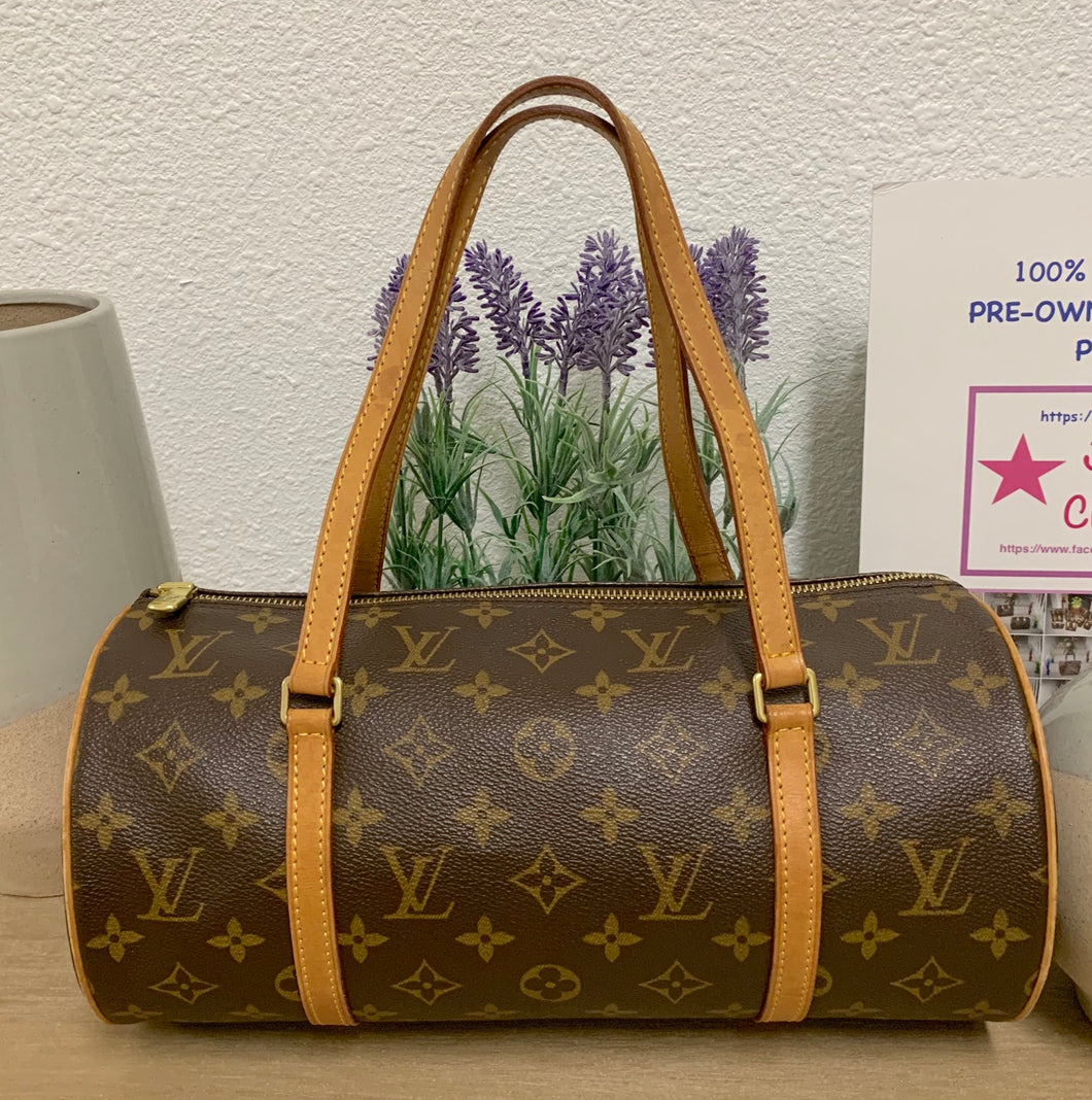 AUTHENTIC Louis Vuitton Papillon 30 Monogram Preowned