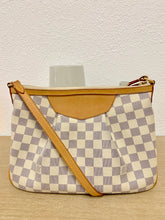 Load image into Gallery viewer, AUTHENTIC Louis Vuitton Siracusa Damier Azur PM PREOWNED