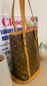AUTHENTIC Louis Vuitton Bucket GM PREOWNED