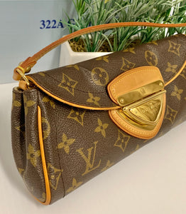 AUTHENTIC Louis Vuitton Beverly Clutch Monogram PREOWNED